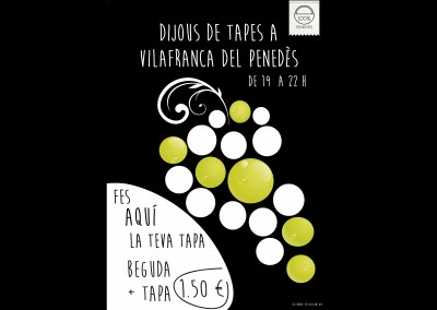CARTELL ruta de tapes