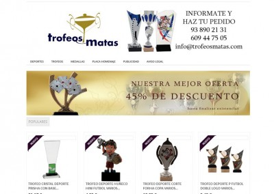 Trofeos Matas